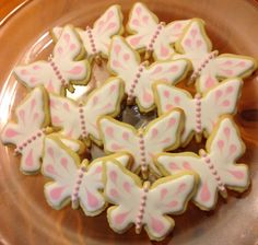 Butterflies for a 1st Birthday Party