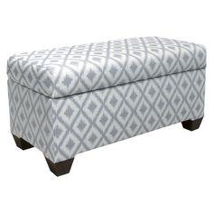 Custom Upholstered Storage Bench