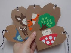 Set+of+10+Woodland+Friend+Tags+by+ohmydeerlove+on+Etsy,+$5.00