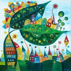 """design – annabies - """"Snail"""" - Love the whimsy! Snail Art, Scandinavian Folk Art, Puzzle Art, Whimsical Art, Art Pictures, Unique Art, Art Lessons, Amazing Art, Watercolor Art"""
