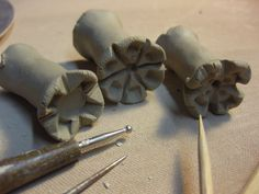 Great site for inspiring textures in clay