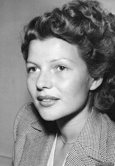 Rita Hayworth without make-up                                                                                                                                                      More