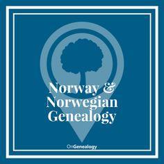 Norway Genealogy & Norwegian Genealogy websites, resources, tips, research guides, heritage travel & more. #NorwayGenealogy #NorwegianGenealogy