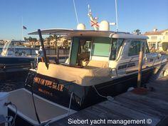 Siebert Yacht Management Sure Shade install 48' Sabre