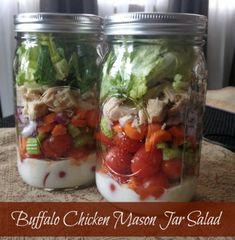 Get instant access to my mason jar salad recipe e-cookbook here! I share 19 of my best mason jar salads along with tips, tricks, and tutorial. Are you sick of Buffalo Chicken recipes yet? I hope not cause we are kind of obsessed here in the B-lo with our buffalo chicken and will find a …