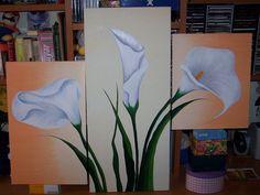 Все мои картины вместе   Узнайте струй facilisimo.com 3 Canvas Paintings, Watercolor Paintings Abstract, Dot Art Painting, Easy Paintings, Beautiful Paintings, Diy Painting, Pencil Drawings Of Flowers, Textured Canvas Art, Mural Art