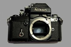 Nikon F2 (F2A) Film Camera, Black, In USA, DP-11 METER RESPONSIVE TO LIGHT!
