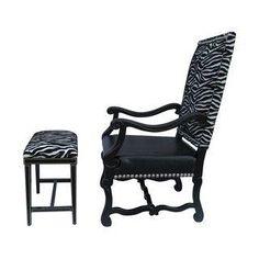 Spanish Revival Hollywood Glam Chair Set