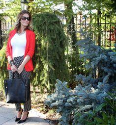 Ava Graces Closet : Printed trousers