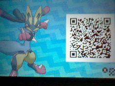 Beowulf, My shiny MEGA Lucario! Pokemon Sun Moon QR code!