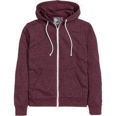 Hooded Jacket $24.99 ($25) ❤ liked on Polyvore featuring tops, jackets, outerwear, shirts, purple sweatshirt, lined shirt, purple shirt, cuff shirts and zipper sweatshirt