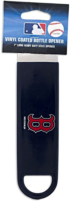 BORS1 Boston Red Sox Bottle Opener Large (Navy)