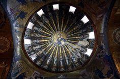 Istanbul. Sant Salvador de Cora. Cúpula amb la genealogia de Crist (nàrtex interior, cúpula sud)