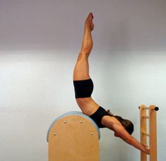 pilates - love the Ladder Barrel