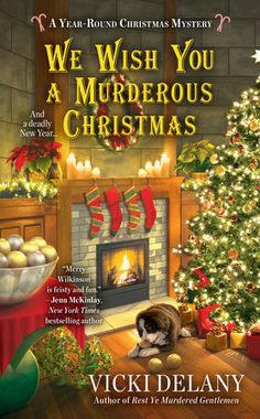 A grinch is spoiling the holiday cheer and causing fear in the latest from the author of Rest Ye Murdered Gentlemen… #holidays