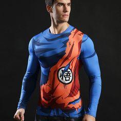 2017 Superhero T-shirts Compression Quick Dry Long Sleeve