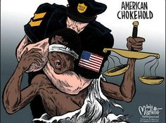 Police choke the justice out of lives and the system.