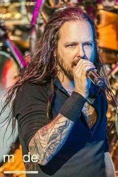 ~ † Jonathan Davis Of Korn † Jonathan Davis, Nu Metal, New Wave Music, My Music, Korn, Great Bands, Cool Bands, List Of Heavy Metals, Ray Luzier
