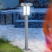 Lanterne solaire ANCONA en inox