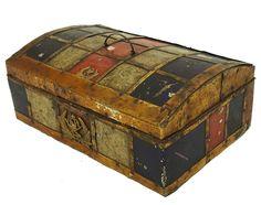 antik kiste truhe schmuckkasten Schatztruhe antique islamic trinket box 19 Jh.-A