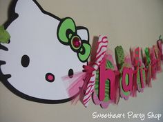 Hello Kitty Birthday Party Banner