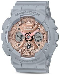 Shop men's and women's digital watches from G-SHOCK. G-SHOCK blends bold style with the most durable digital and analog-digital watches in the industry. G Shock Watches, Casio G Shock, Sport Watches, Women's Watches, Nice Watches, Wrist Watches, Watches Online, Luxury Watches, Vintage Watches For Men