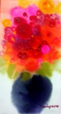 Dreamy / Watercolor on arches, 2014 / 26 x 15 cm x inch)