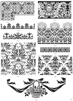 Traditional Stencil Designs CD-ROM and Book - Dover Publications