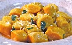 Pumpkin Ricotta Gnocchi with Crispy Brown Sage Butter - The Hopeless Housewife® Pumpkin Recipes, Fall Recipes, Pasta Recipes, Cooking Recipes, Ricotta Gnocchi, Vegetarian Recipes, Healthy Recipes, Good Food, Yummy Food