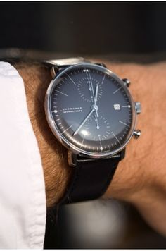 Max Bill Chronoscope noir