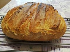 Hűtőben kelt kenyér recept lépés 11 foto Bread Recipes, Cooking Recipes, Baked Potato, Baked Goods, Food And Drink, Ethnic Recipes, Baguette, Pizza, Foods