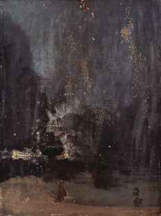 Nocturne in Black and Gold, the Falling Rocket (James McNeill Whistler)