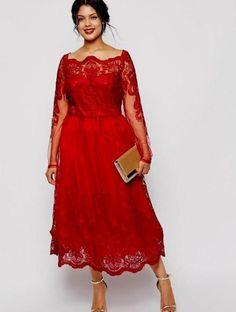 cbd4fedb38730 Plus size dresses sleeves - http   pluslook.eu fashion plus