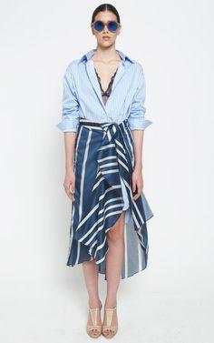 Johanna Ortiz Spring/Summer 2015 Trunkshow Look 6 on Moda Operandi