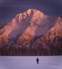 Pioneer Peak near Palmer, Alaska.