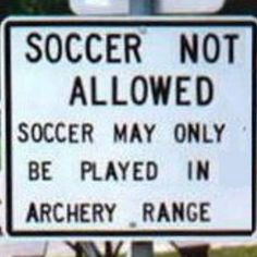 How to reduce the number of soccer players - Some might be a cunning ploy. | Community Post: 30 Signs That Definitely Have A Story Behind Them