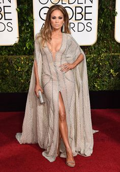 Jennifer Lopez - Stars arrive at the 72nd Annual Golden Globe Awards at the Beverly Hilton Hotel in Beverly Hills on Jan. 11, 2015.