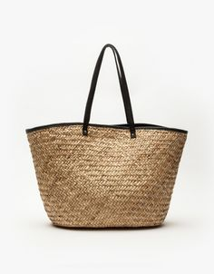 15f2f4dfee Solstice Woven Tote  needspringvisions Perfect beach bag Natural Weave