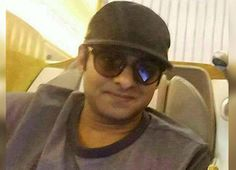 prabhas in a clean shaven look
