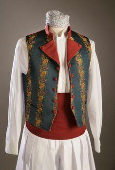 CHALECOS - Ofrena. Indumentaria Regional Folk Costume, Costumes, Embroidered Jacket, Vintage Fashion, Denim, Regional, Sexy, Womens Fashion, Jackets