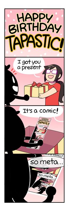 4-Panel Life :: TAPPY BIRTHDAY | Tapastic Comics - image 1