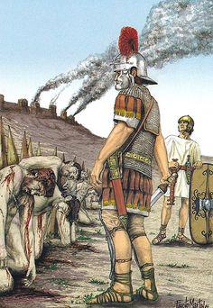 """Tras la Batalla de Munda, 17 de marzo del 45 aC""""                                                                                                                                                                                 Más"""