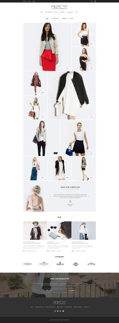 Minimal 16+ Multi Stores Magento Theme for Stunning eCommerce Website. Demo #fashionshop #clothes #onlinestore Live Preview & Download ➼ http://themeforest.net/item/minimal-responsive-theme/15238798?ref=Datasata