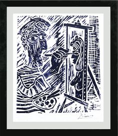 """unframed Pablo Picasso Signed//Hand-Numbered Ltd Ed /""""Weeping Woman II/"""" Print"""