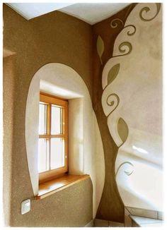 Cob House Interior, Interior Design, Earth Bag Homes, Earthship Home, Eco Buildings, Mud House, Adobe House, Clay Houses, Tadelakt