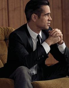 Colin Farrell Rocks Dolce & Gabbana for El Pais Icon Cover Shoot