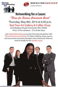 Simply Networking May 8th Event @ RedTree Art Gallery.   Networking for a Cause