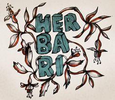 SketchBook. Textile Design, Illustration, Sport mode: Herbari