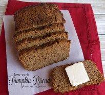 "Gluten-free, sugar-free low carb pumpkin bread from workingathomeschool.com. Delicious ""S"" bread for Trim Healthy Mamas."