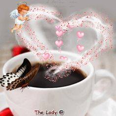 Happy Valentine's Day everyone! Good Morning Messages Friends, Romantic Good Morning Messages, Good Morning Beautiful Pictures, Beautiful Gif, Good Morning Images, Good Morning Coffee Gif, Good Morning Funny, Good Morning Good Night, Evening Greetings